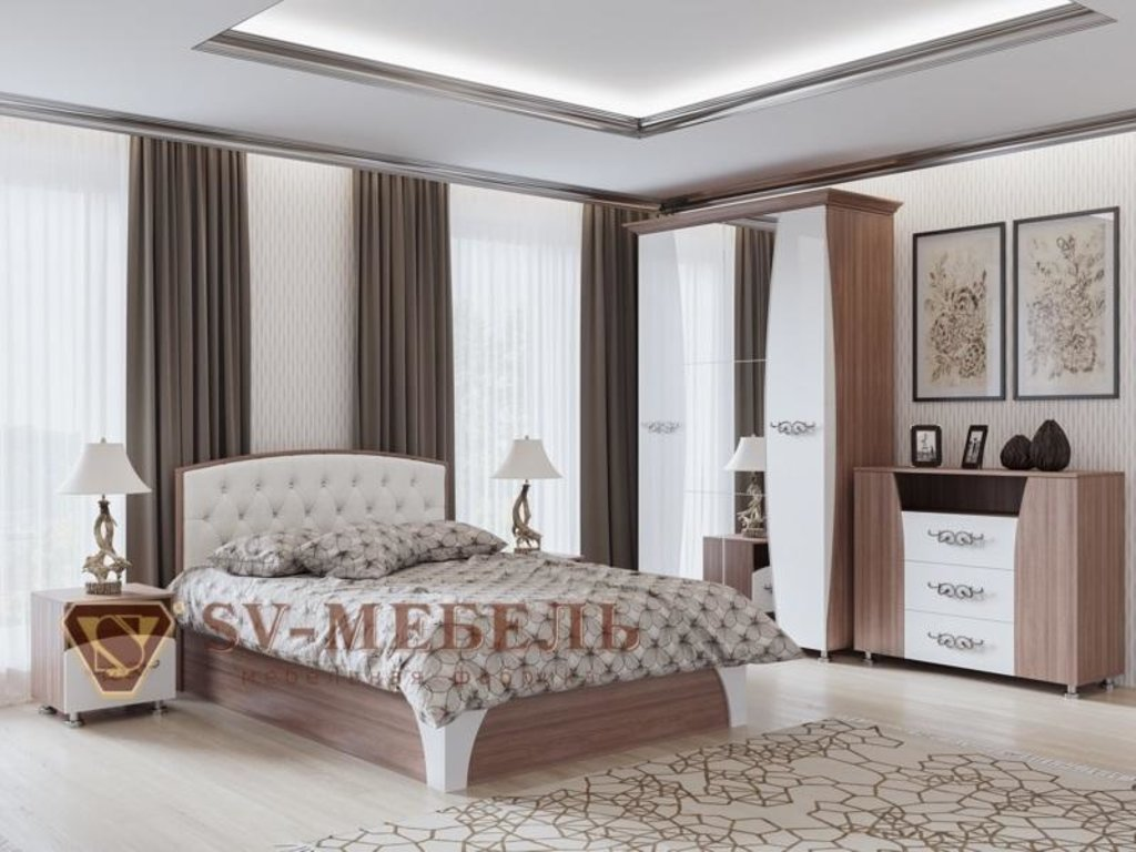 Мебель для спальни Лагуна-7: Комод Лагуна-7 в Диван Плюс