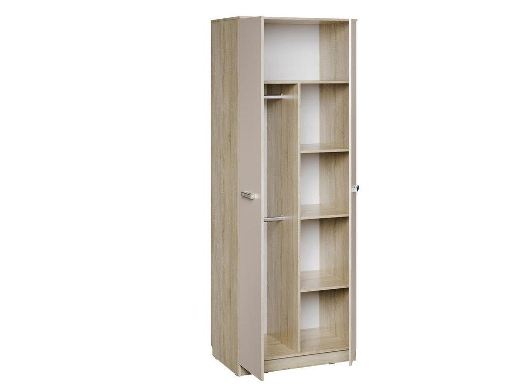 Детские шкафы и стеллажи: Шкаф для одежды НМ 014.07 Акварель в Стильная мебель