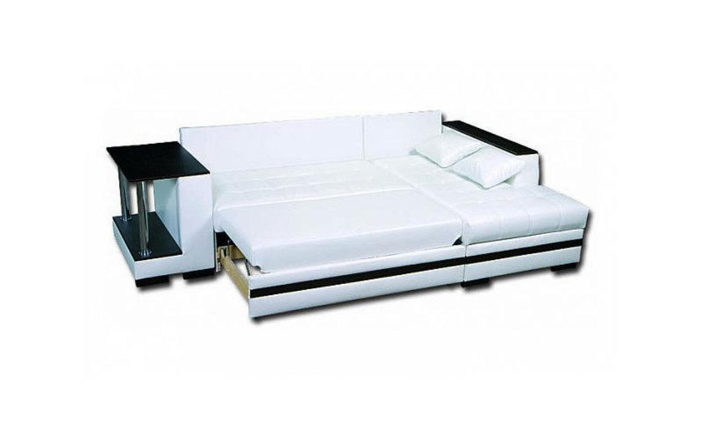 Диваны и мягкие кресла: Угловой диван Рим со столом в Стильная мебель