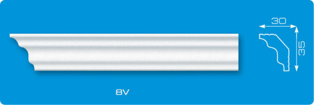 Плинтуса потолочные: Плинтус потолочный ЛАГОМ ДЕКОР 8v экструзионный длина 2м в Мир Потолков