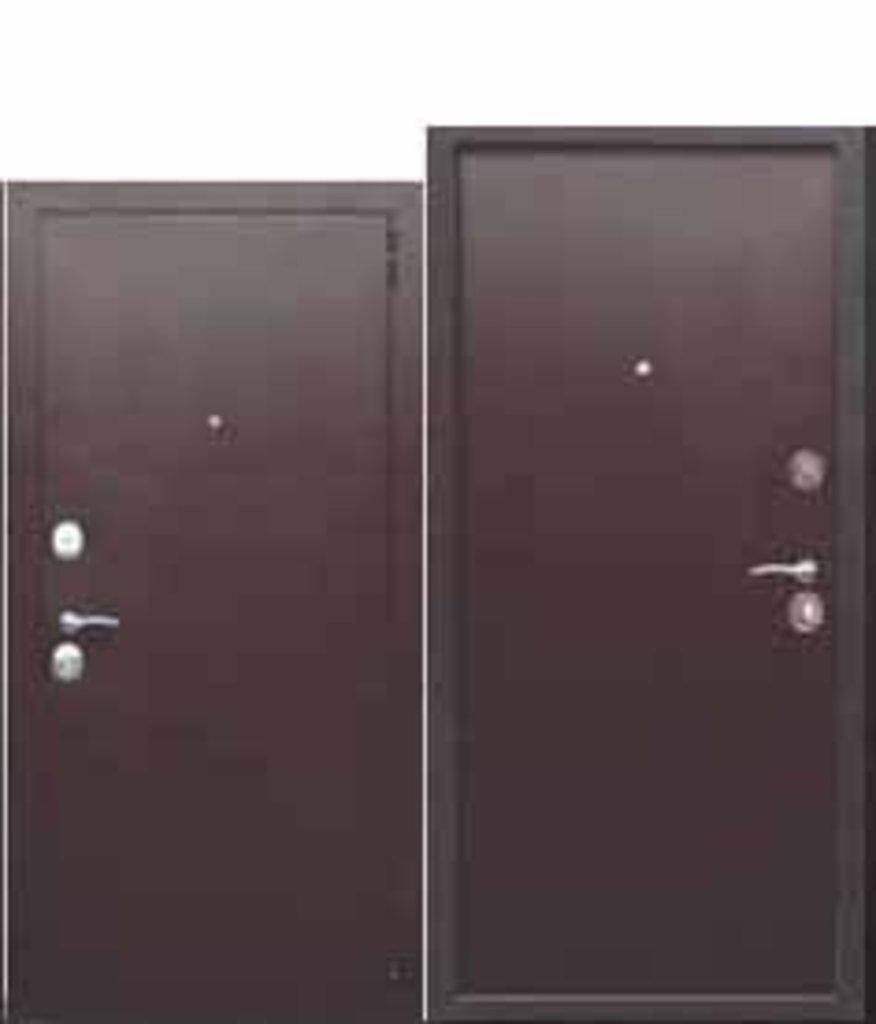Двери завода Феррони: Гарда Металл/Металл мини в Модуль Плюс