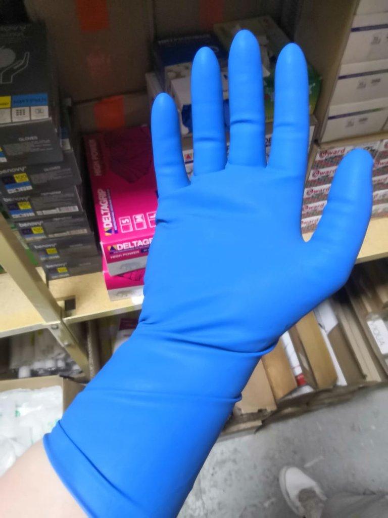 Высокопрочные перчатки с удл.манжетой, упак. в Техномед, ООО