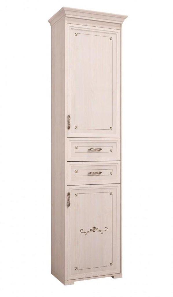 Шкафы, общие: Шкаф комбинированный 28 (без карниза) Афродита правый в Стильная мебель