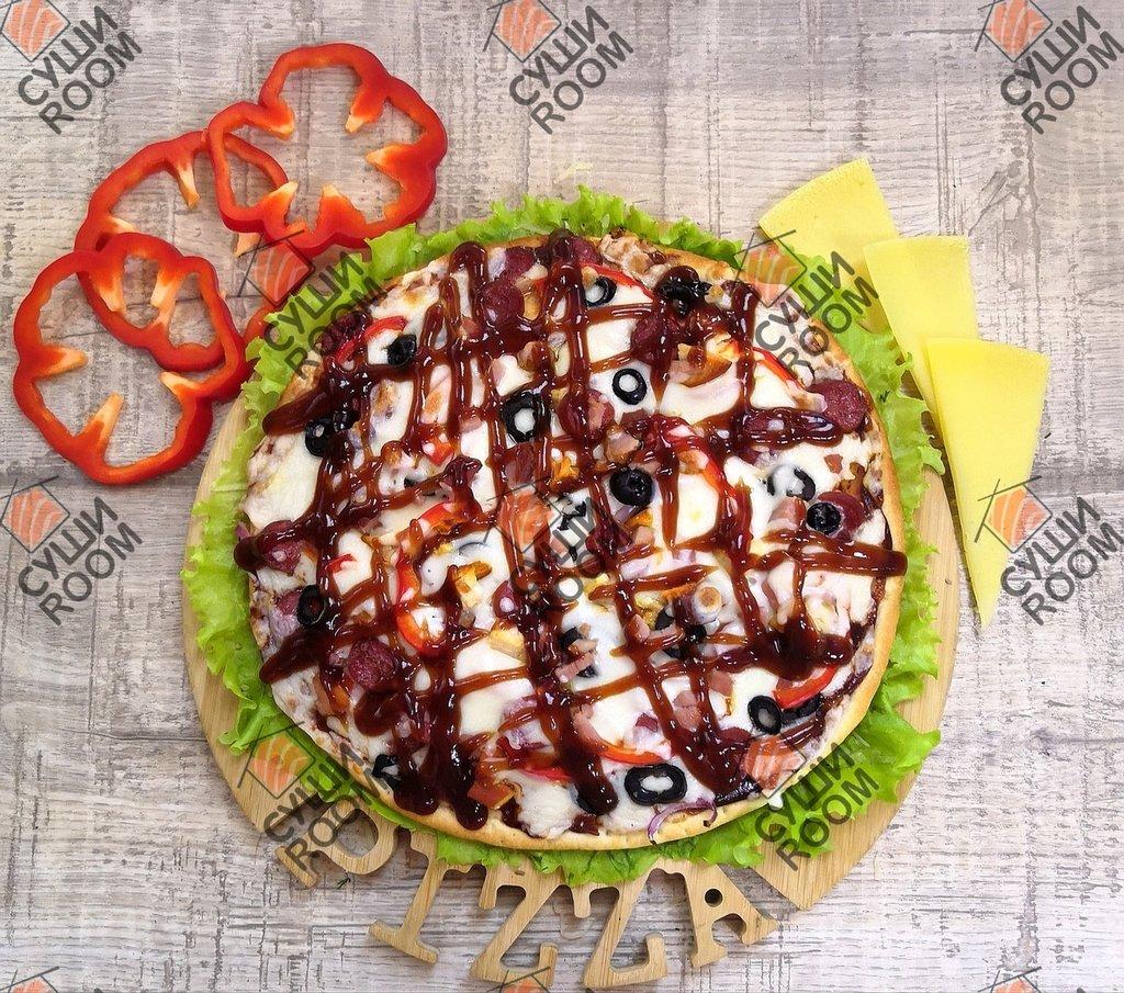 Пицца: Барбекю в Суши Room
