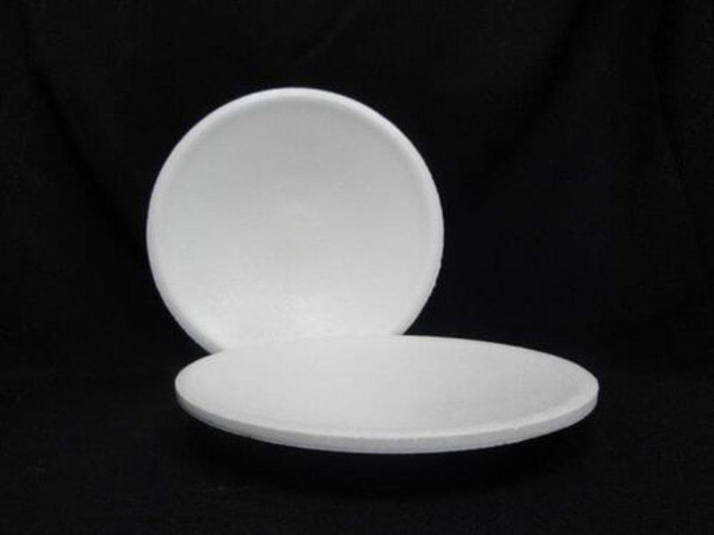 Пенопласт: Тарелка под роспись пенопласт, Размер - 22 см в Шедевр, художественный салон
