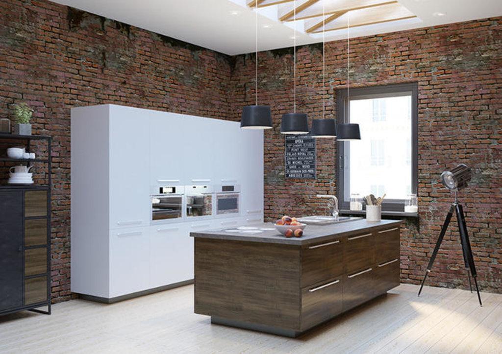 Кухни: Кухня Нью-Йорк в Модный интерьер