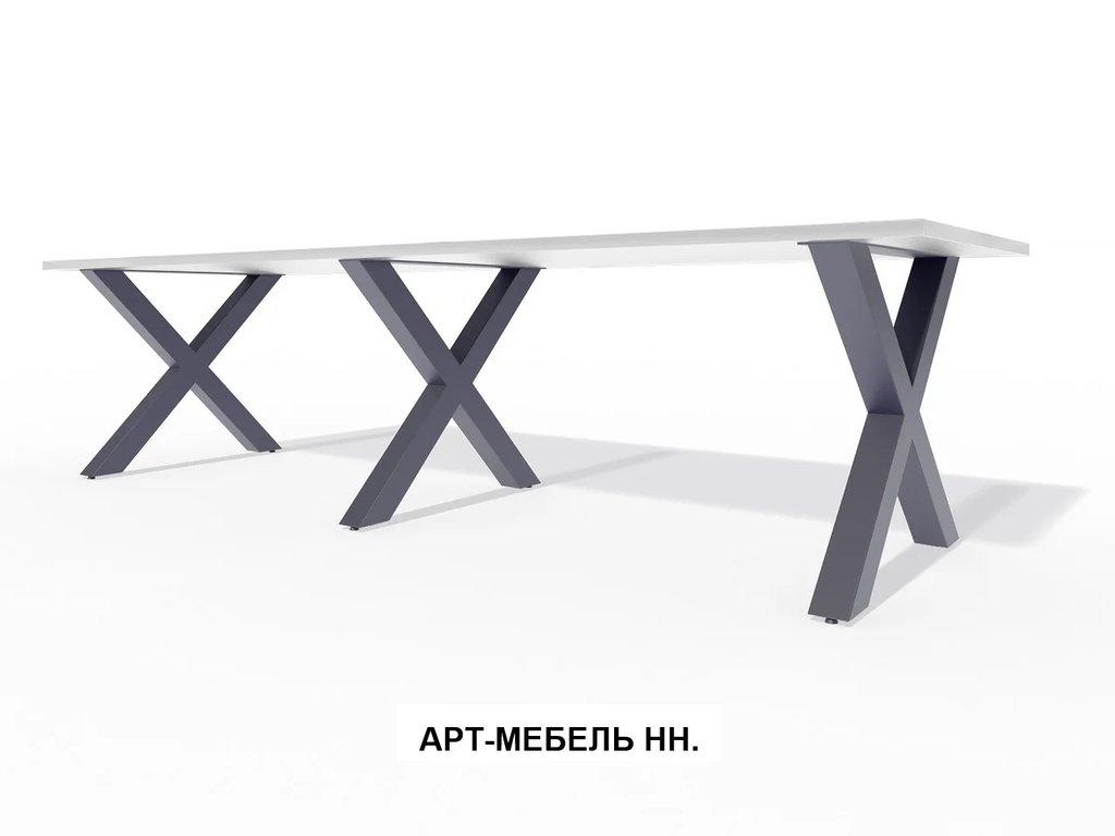 Подстолья для столов.: Подстолье 0.48 (чёрный) в АРТ-МЕБЕЛЬ НН