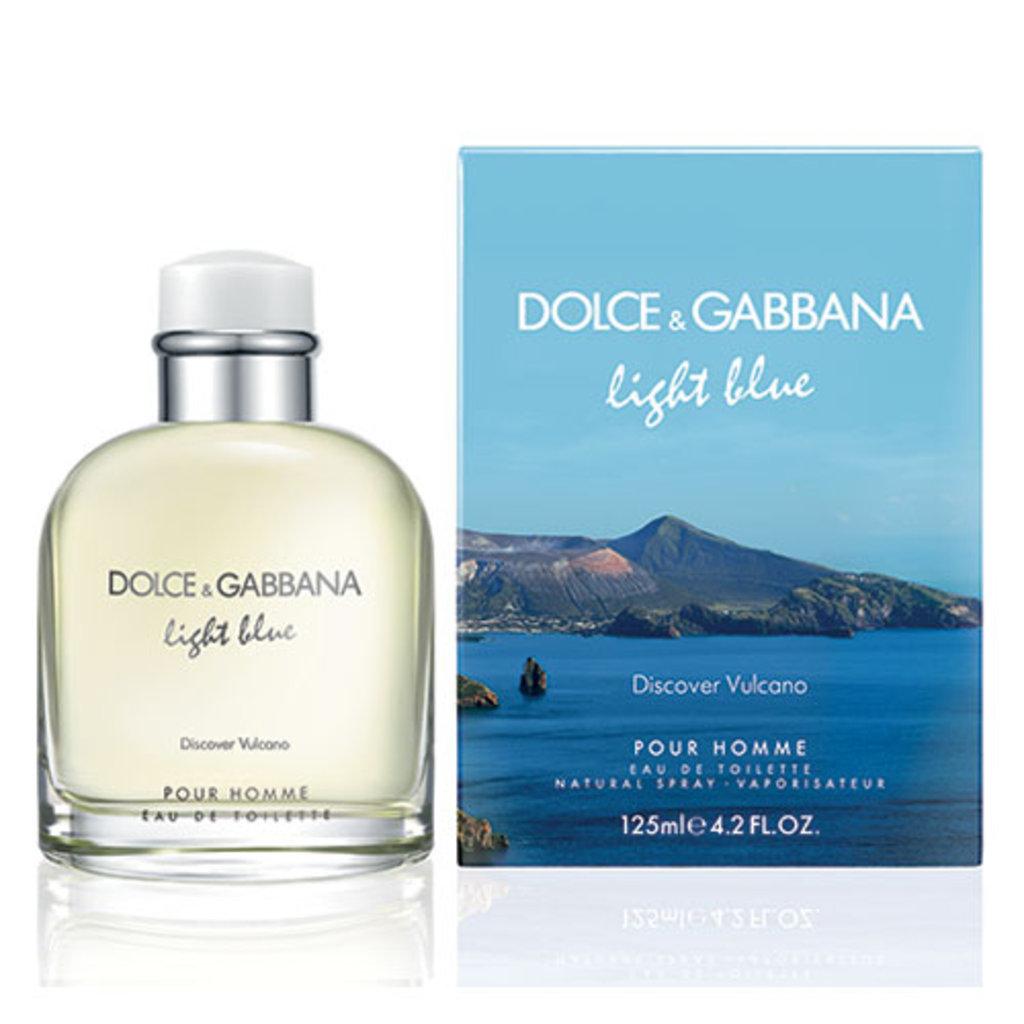 Dolce&Gabbana: D&G Light Blue Discover Vulcano edt муж 125 ml в Элит-парфюм