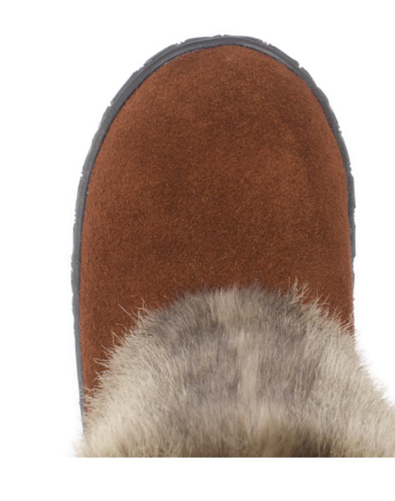 Обувь подростковая и детская: Унты детские для девочки. Рыже-коричневые. Мех светло-коричневый. в Сельский магазин