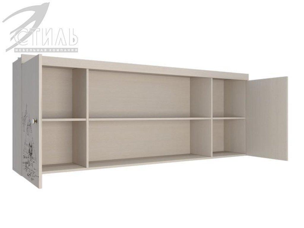 Мебель для детской Мийа - 3 (дуб молочный, фотопечать): Полка навесная ПН-307 Мийа - 3 в Диван Плюс