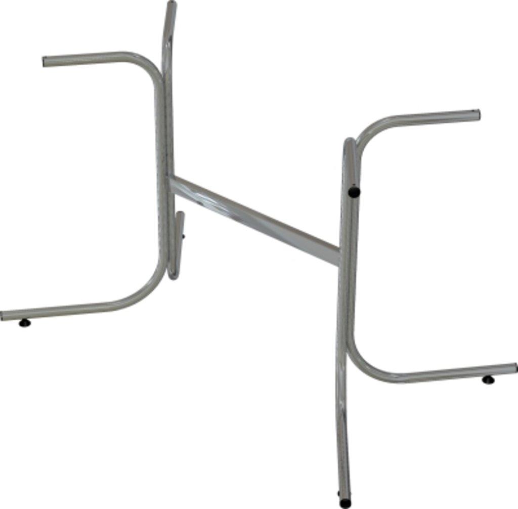 Столы для ресторана, бара, кафе, столовых.: Стол прямоугольник 120х60, подстолья телескоп серая в АРТ-МЕБЕЛЬ НН