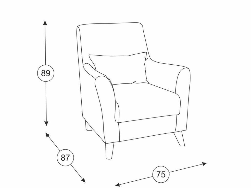 Кресла Либерти: Кресло Либерти ТК 227 в Диван Плюс
