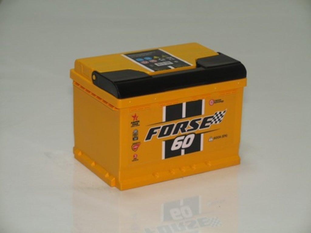 Аккумуляторы автомобильные: FORSE 60 А/Ч L в Мир аккумуляторов