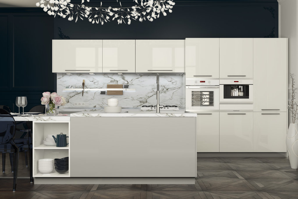 Кухни: Кухня из акрила Бруннен в Стильная мебель