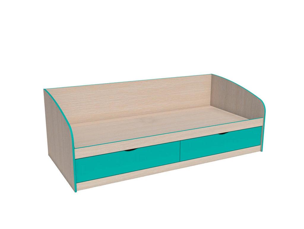 Детские и подростковые кровати: Кровать НМ 008.63 Рико (900x2000, усилен. настил) в Стильная мебель