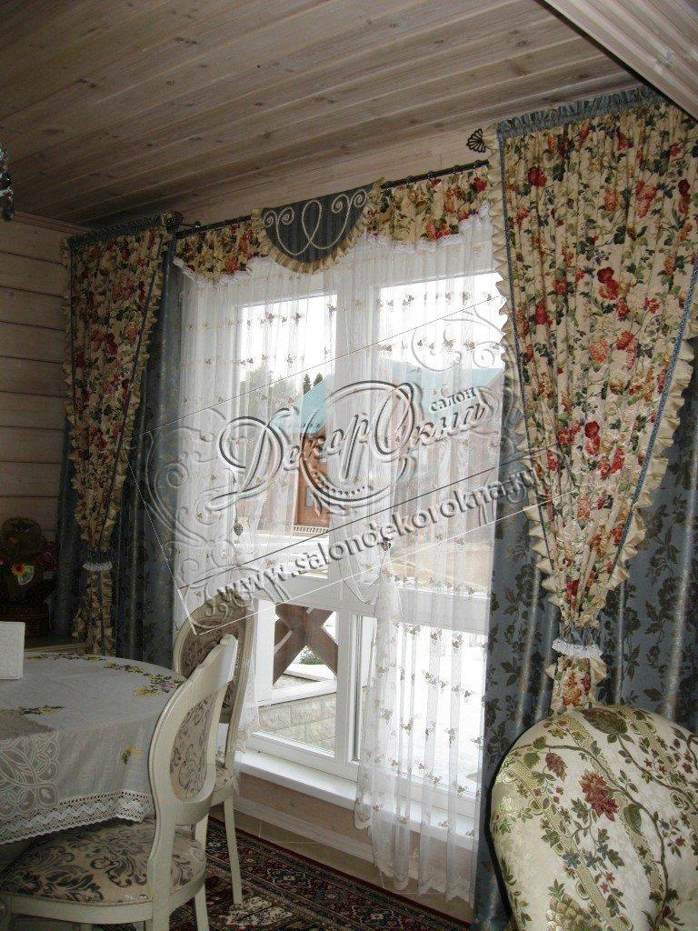 Шторы, портьеры: Шторы кантри в Декор окна, салон