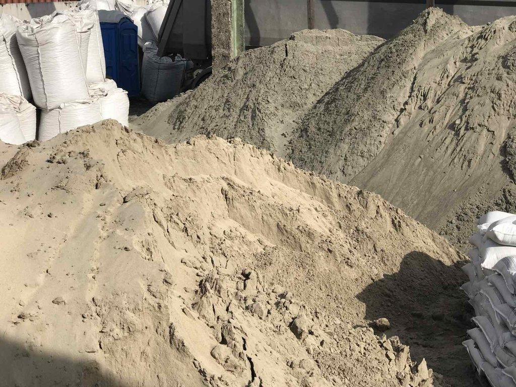 Песок строительный: Песок ГОСТ 8736-93 (непросеянный) в 100 пудов