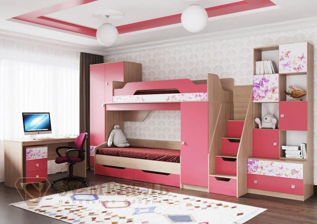 Мебель для детской Сити 1: Шкаф открытый Сити 1 в Диван Плюс