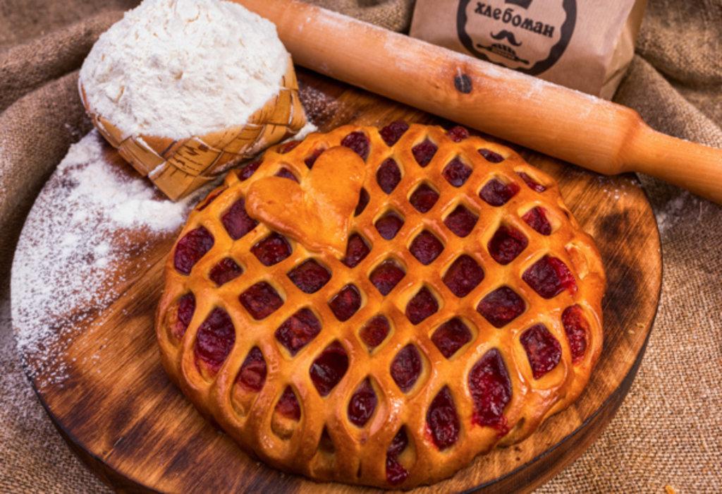 Сладкие пироги: Пирог с клубникой в Хлебоман