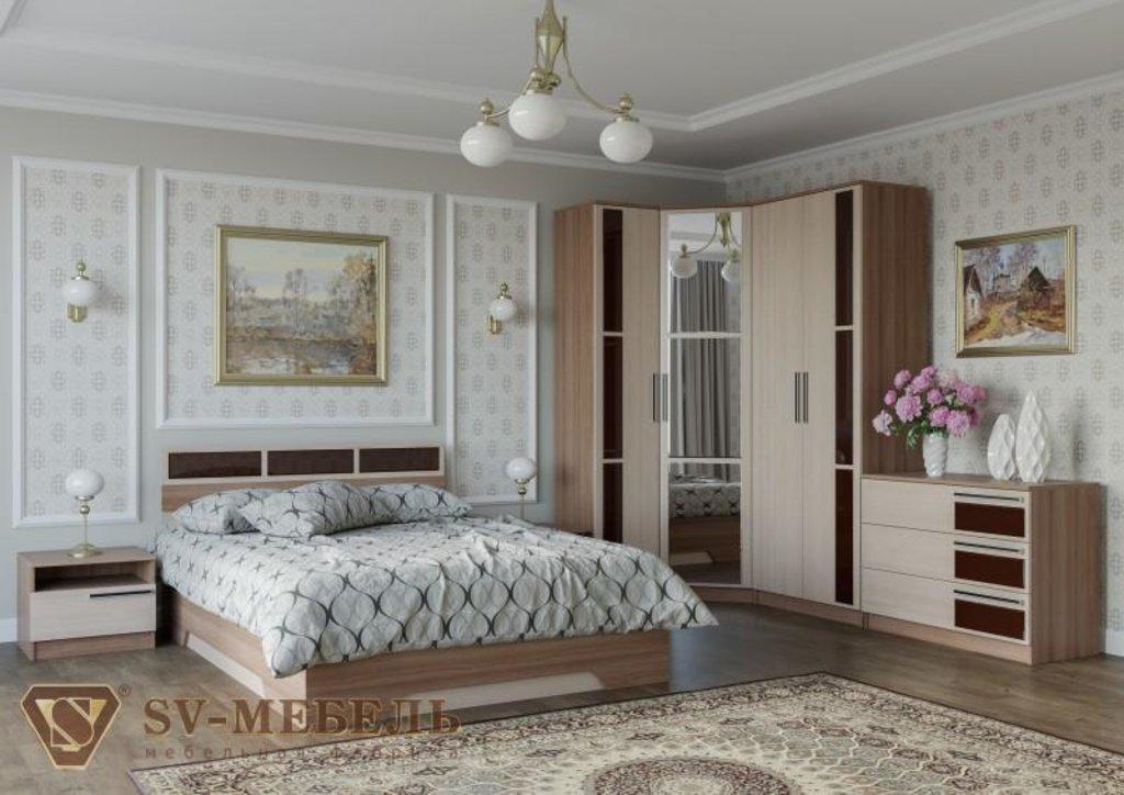 Мебель для спальни Эдем-2: Шкаф двухстворчатый для платья Эдем-2 в Диван Плюс