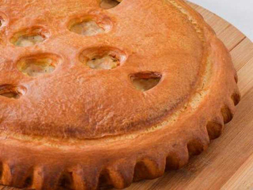 Куриные: Пирог с курицей и ананасами в Провиант