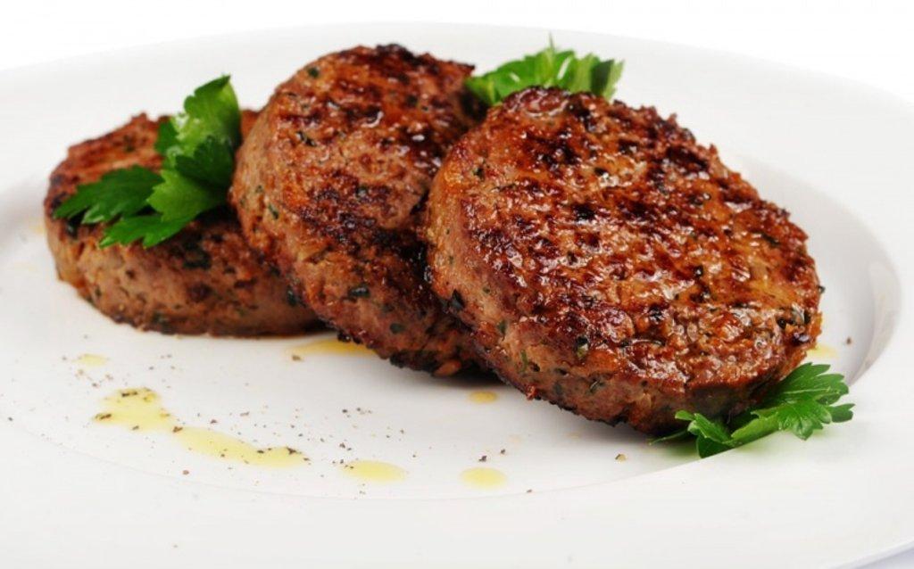 Котлета из мраморной говядины, 120 гр в Leggo burger