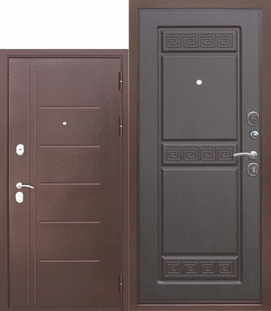 Двери завода Феррони: 10 см Троя Антик Венге в Модуль Плюс