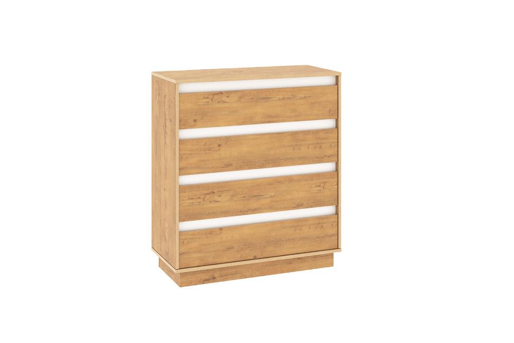 Комоды для дома: Комод VIRGINIA НМ 011.02 Дуб Бунратти в Стильная мебель