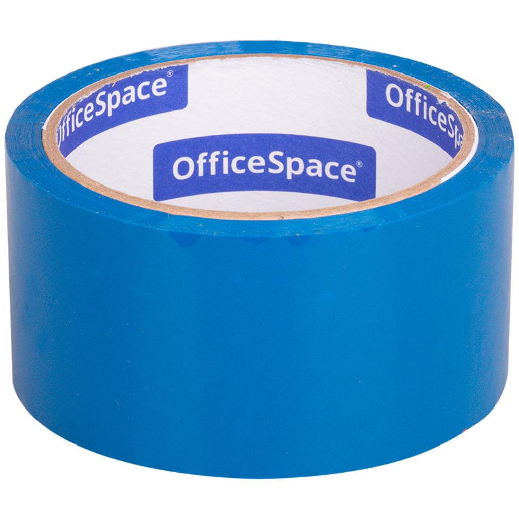Скотч: Скотч OfficeSpace , 48мм*40м,45мкм, синий ШК КЛ_6290 в Шедевр, художественный салон