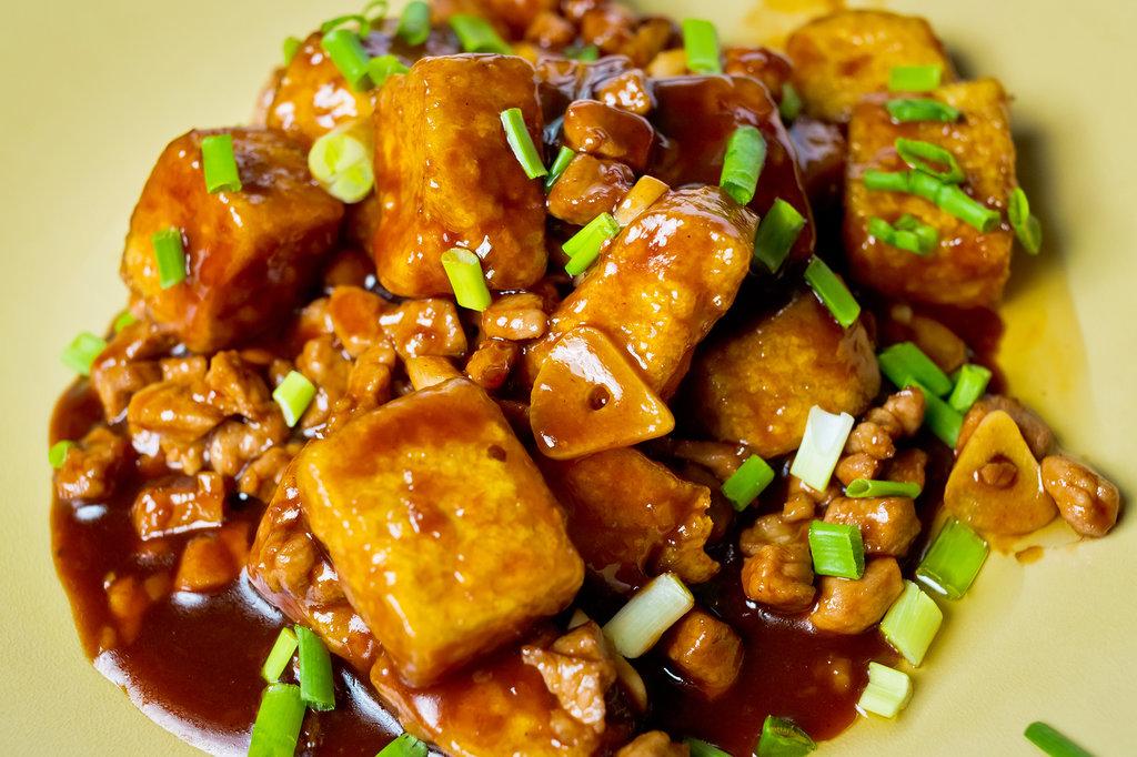 Горячие блюда: МаПо тофу в Шанхай