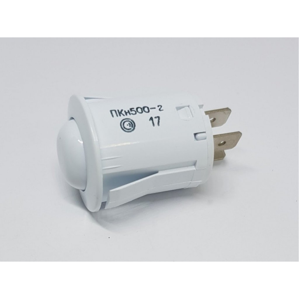 Запчасти для плит и духовых шкафов: Кнопка электроподжига 3-х контактная белая для плит Gefest (Гефест), Дарина, ПКн500-2 в АНС ПРОЕКТ, ООО, Сервисный центр