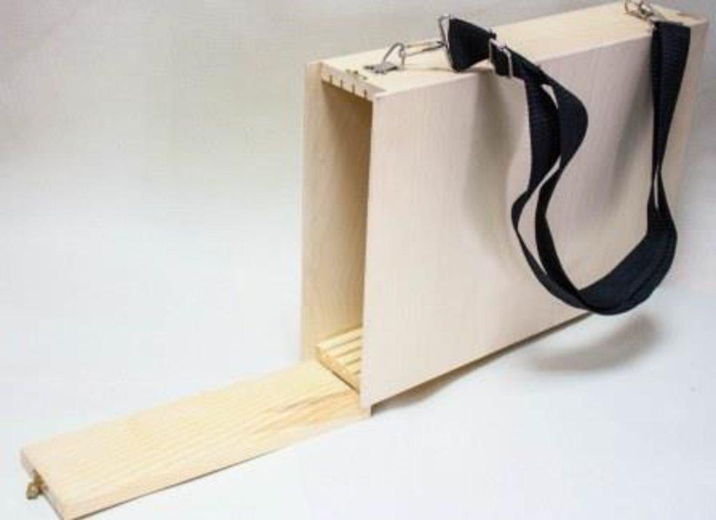 Этюдники, ящики для пленера: Ящик для пленера 38*26,5см неокрашенный, без ремня в Шедевр, художественный салон