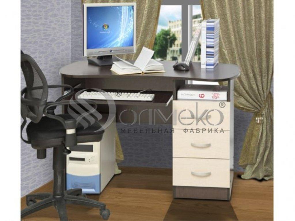 Компьютерные столы: Стол письменный (Олмеко) в Стильная мебель