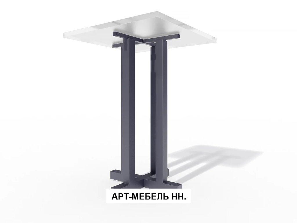 Подстолья для столов.: Подстолье барное 0.38 (чёрный) в АРТ-МЕБЕЛЬ НН