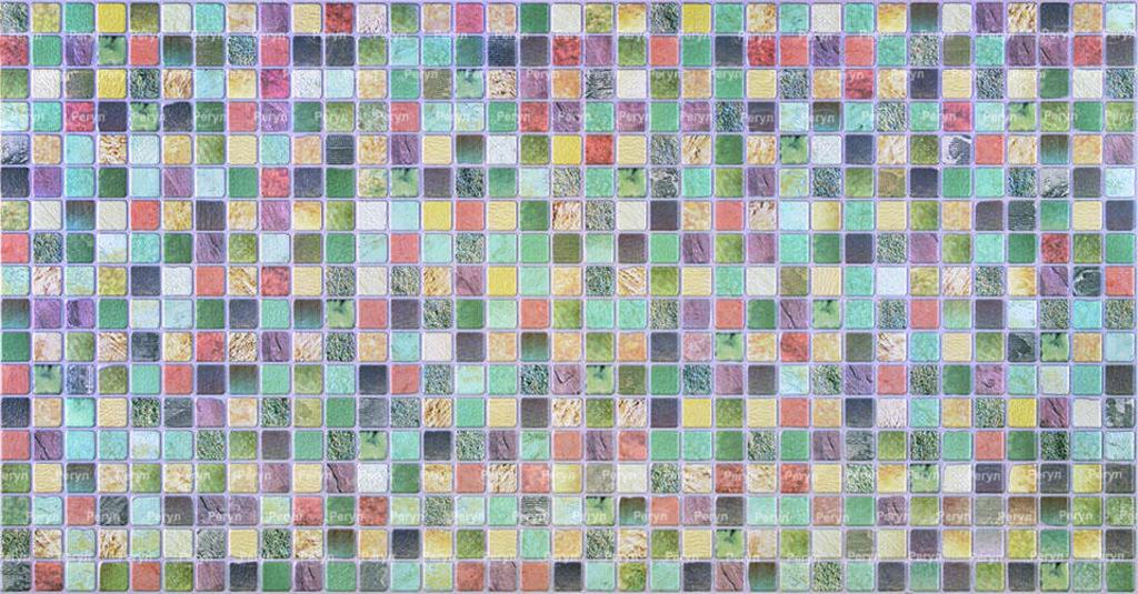 Панели ПВХ: Мозаика Античность зеленая в Мир Потолков