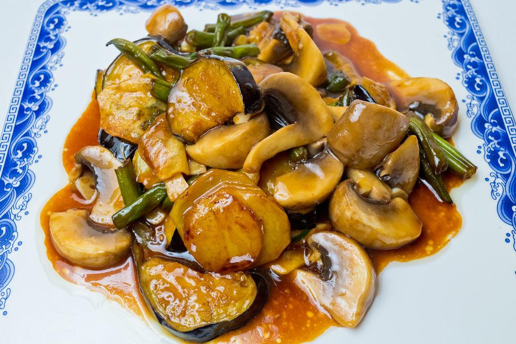 Овощные блюда: Шо Сы в Шанхай