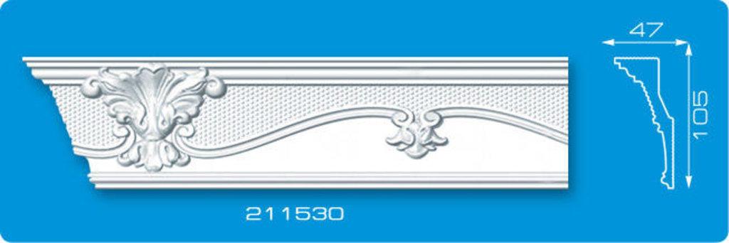 Плинтуса потолочные: Плинтус потолочный ФОРМАТ 211530 инжекционный длина 2м в Мир Потолков