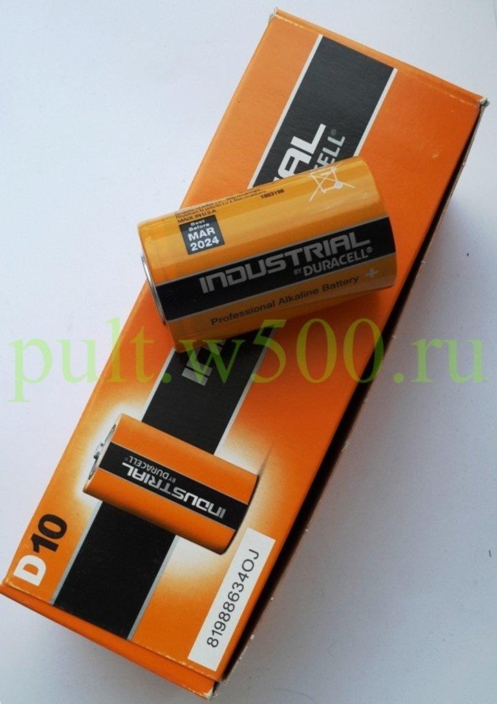D, 20, Большая, Бочка: Батарея LR20, D  DURACELL INDUSTRIAL 10BOX в A-Центр Пульты ДУ