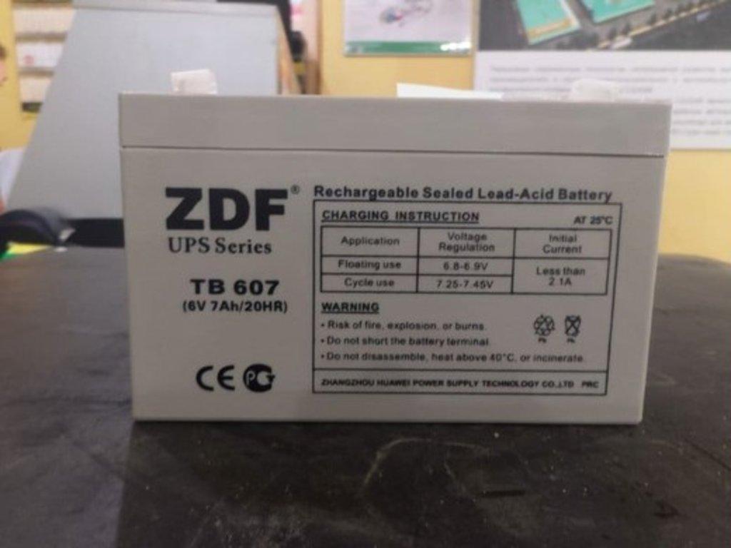 ZDF: ZDF TB- 607 в БазаАКБ