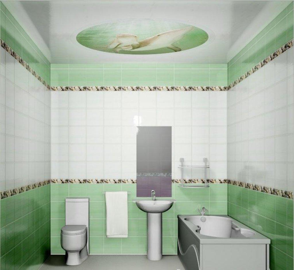Панели Novita: Декоративный потолок Зеленый океан NOVITA в Мир Потолков