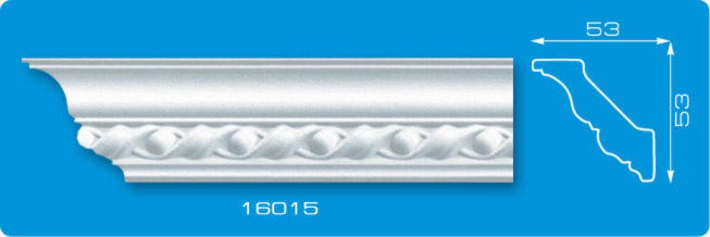 Плинтуса потолочные: Плинтус потолочный ФОРМАТ 16015 инжекционный длина 1,3м, средний в Мир Потолков