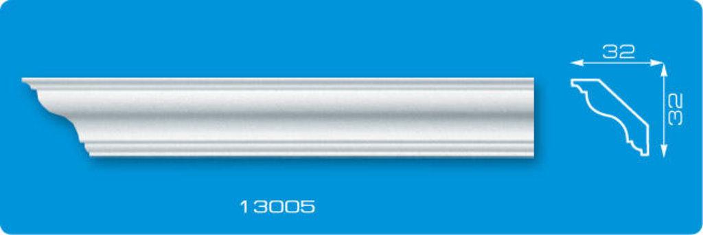 Плинтуса потолочные: Плинтус потолочный ФОРМАТ 13005 инжекционный длина 1,3м, узкий в Мир Потолков