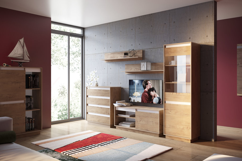 Книжные шкафы и полки: Полка VIRGINIA НМ 011.62 в Стильная мебель