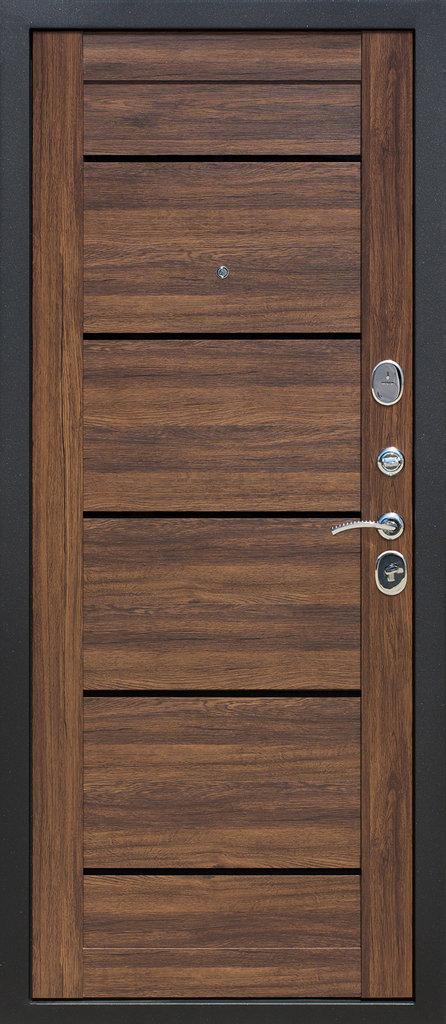 Входные двери (бюджет) от 70-80мм: Входная дверь  НЬЮ-ЙОРК Царга дуб в Пластиковые окна в Сургуте STEKLOMASTER