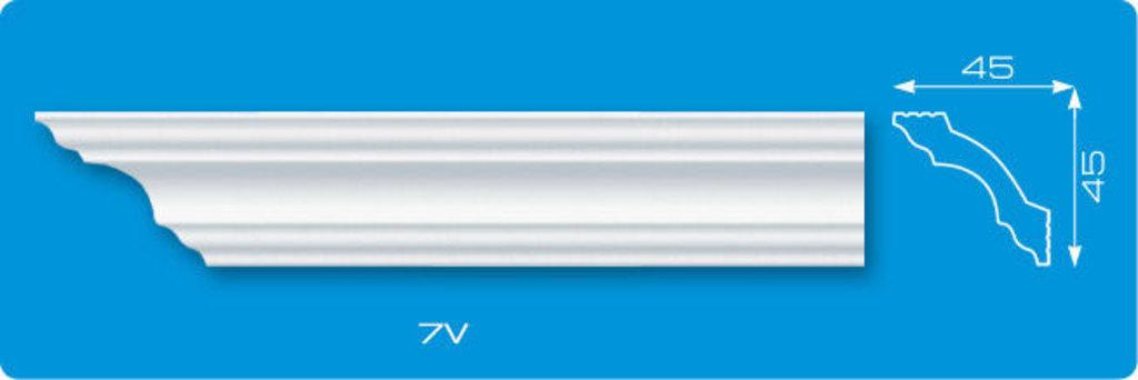 Плинтуса потолочные: Плинтус потолочный ЛАГОМ ДЕКОР 7v экструзионный длина 2м в Мир Потолков