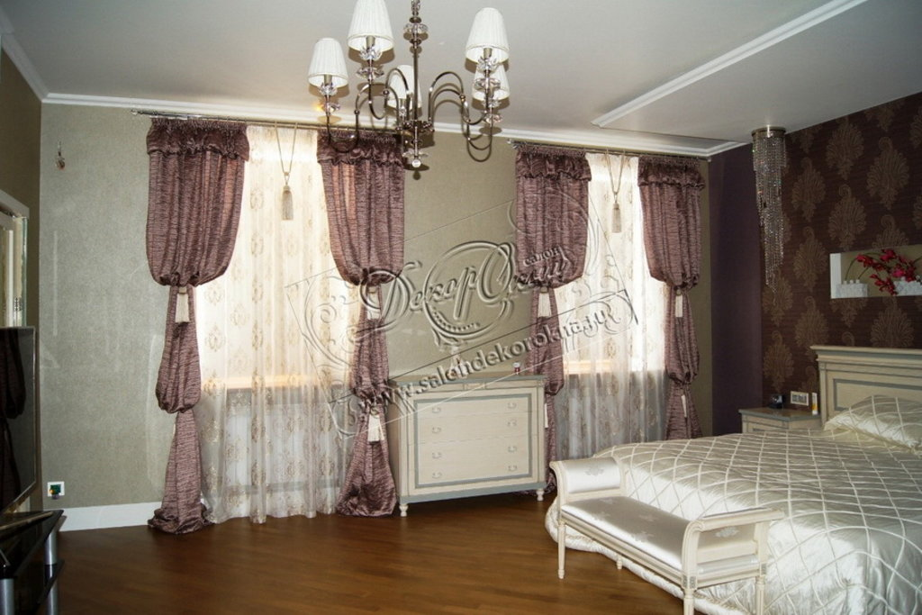 Шторы, портьеры: Современные шторы в Декор окна, салон