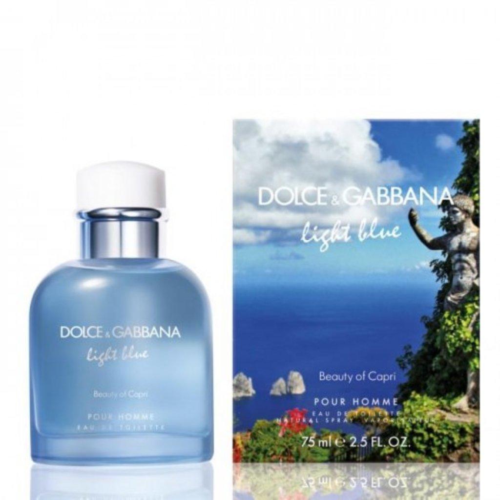 Dolce&Gabbana: D&G Light Blue Pour Homme Beauty of Capri edt м 40   75 ml в Элит-парфюм