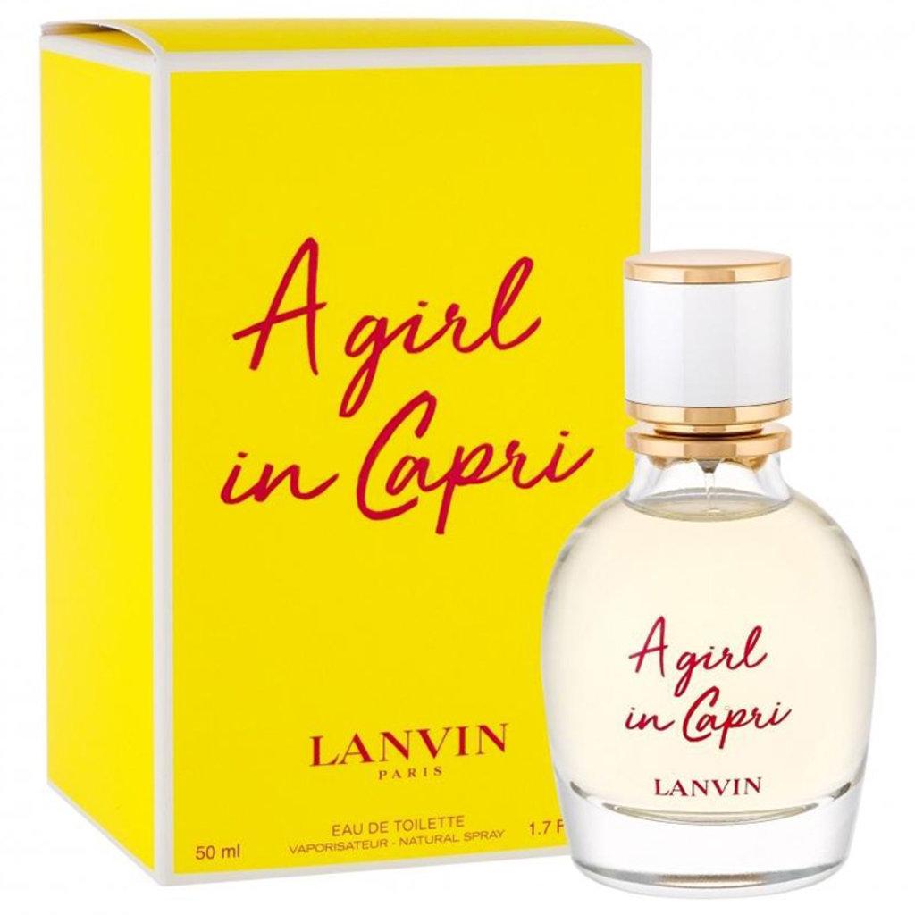 Для женщин: Lanvin A Girl in Capri Туалетная вода 50 / 90ml в Элит-парфюм