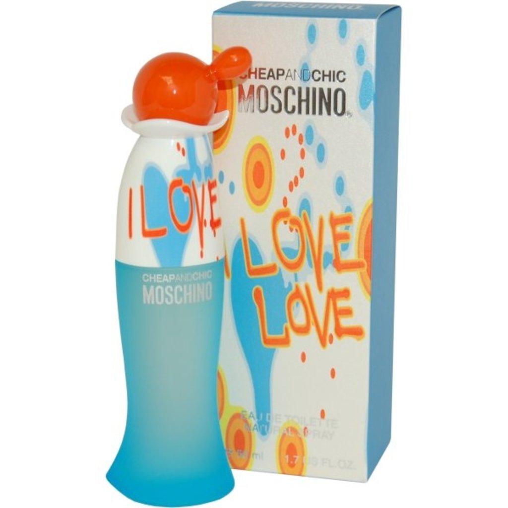 Moschino: Moschino I love love Туалетная вода edt ж 30   50   100ml в Элит-парфюм