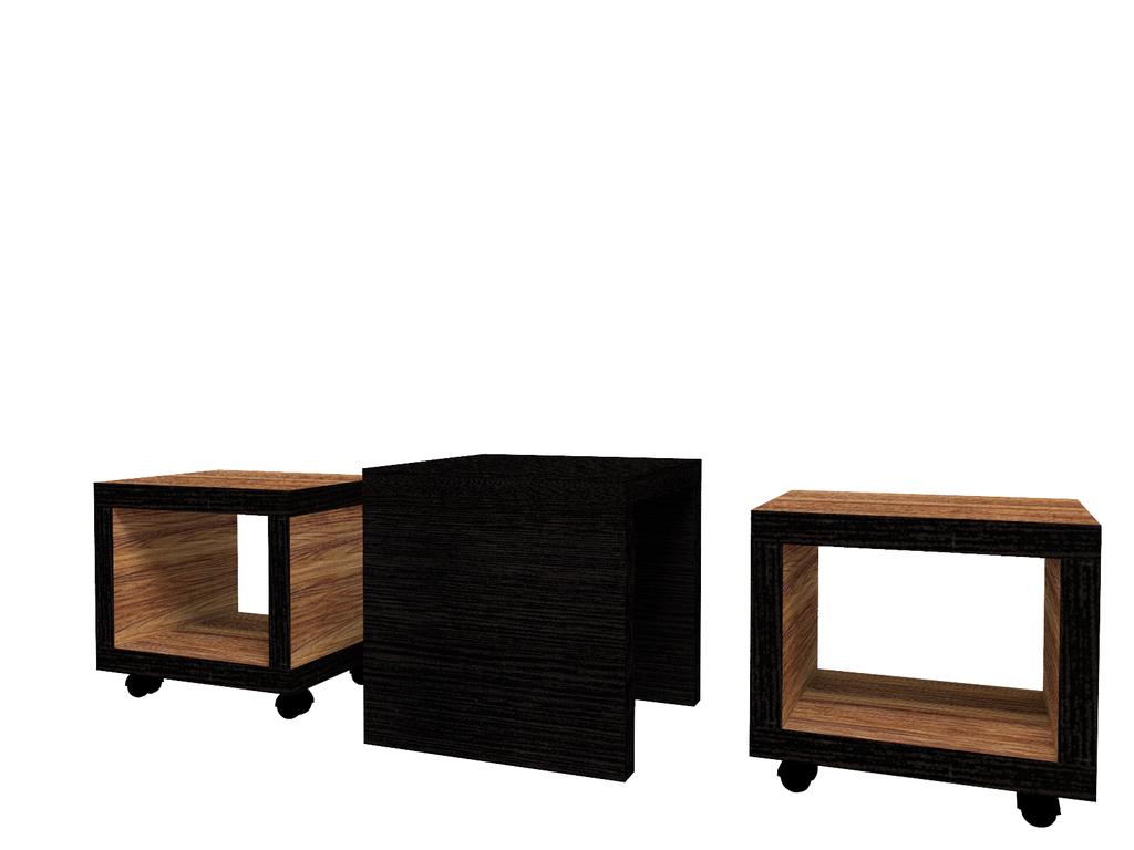 Журнальные и кофейные столики: Стол журнальный 2 Hyper в Стильная мебель